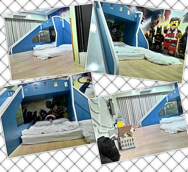 台南飛魔力親子民宿-2樓積木房