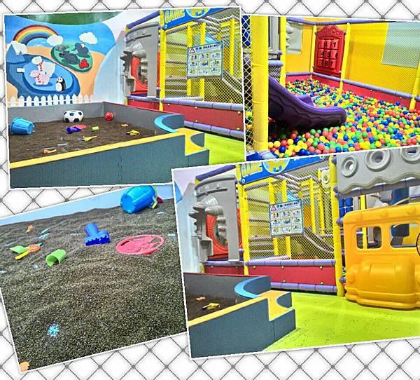 台南飛魔力親子民宿-5樓遊戲室