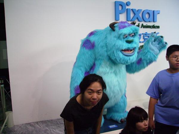 皮克斯-毛怪