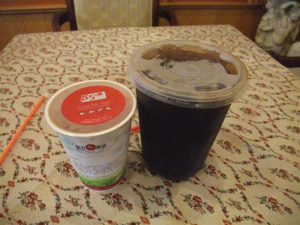 超大杯的20元紅荼冰啦~