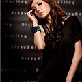 [00692]摩登 性感 單肩 鉚釘 洋裝 -黑色.白色.紅色
