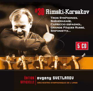 Evgeny Svetlanov-Rimsky-Korsakov Sheherazade, Symphonies, Oeuvres Orchestrales(5CD).jpg