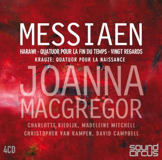 Joanna MacGregor-Messiaen Vingt Regards, Harawi & Quatuor Pour La(4CD).jpg