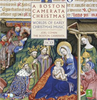 Joel Cohen, Boston Camerata-A Boston Camerata Christmas-Worlds Of Early Christmas Music.jpg