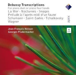 Jean-Francois Heisser-Transcriptions For Piano Duet Or Piano 4 Hands Of Or By Debussy (2CD).jpg