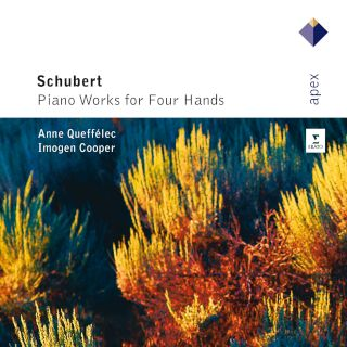 Anne Queffelec And Imogen Cooper-Schubert Works For Piano Four Bands (2CD).jpg