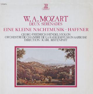 Karl Ristenpart, Orchestre de Chambre de la Radiodiffusion-Mozart Serenades.jpg