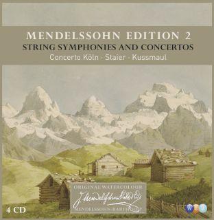 Mendelssohn Edition-Mendelssohn Edition Vol. 2 String Symphonies And Concertos(4CD).jpg