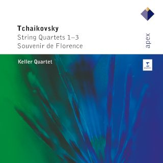 Keller Quartett-Tchaikovsky String Quartets 1-3 & Souvenir De Florence(2CD).jpg