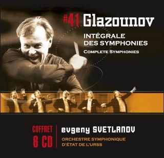 Evgeny Svetlanov-Glazounov Symphonies Nos 1-8(6CD)