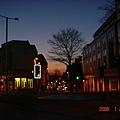 早上7點多Nottingham City Center