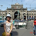 Zurich 火車站前廣場