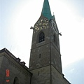 Fraumunster 聖母教堂