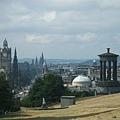 鳥瞰愛丁堡
