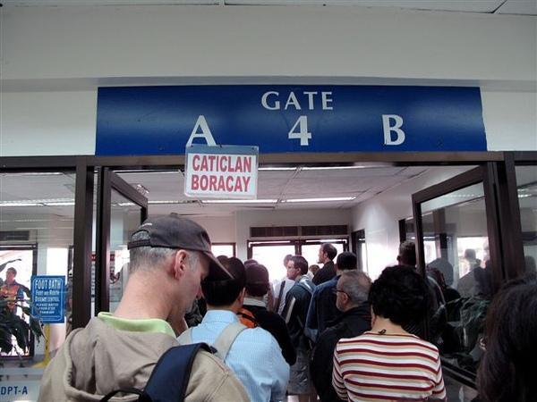 終於~gate開了