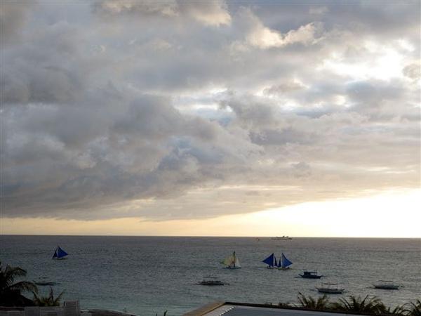 美麗的長灘島