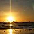 長灘島的夕陽