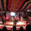 蒙古馬術秀表演