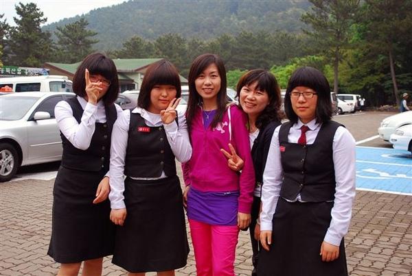 和韓國妹妹合照