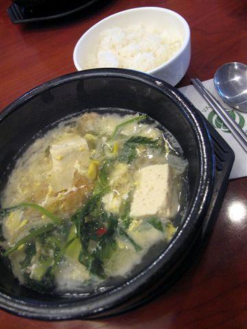 韓式黃太魚湯定食