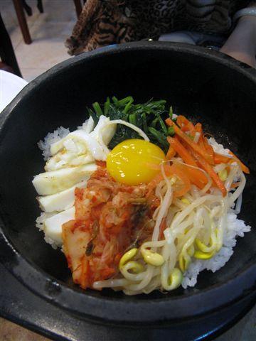 涮涮鍋石頭拌飯+季節小菜