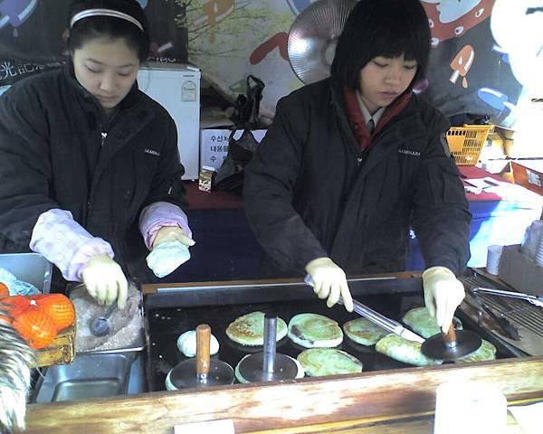 韓國小吃攤