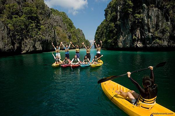 20. El Nido Resorts Activities - Team building at the Big Lagoon.jpg