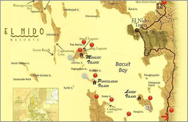 愛妮島地圖