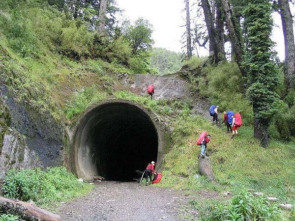 高繞第一隧道