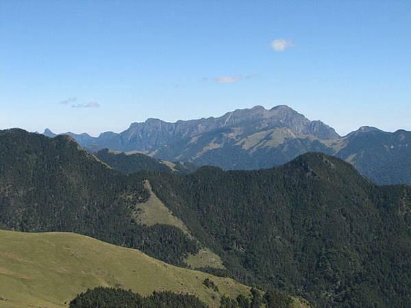 雪山與北稜角