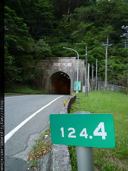過了12.4K的新澳隧道就滑到南澳