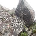 20米落差岩壁