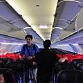 和國內班機沒什麼兩樣的座位