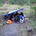 28.5K登山口前的營地