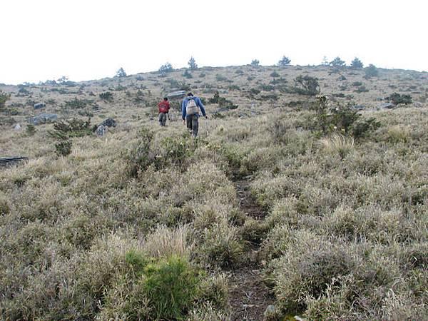 先陡上300m到盧利拉駱山