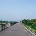 樹林環河道路的自行車道