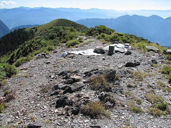 大雪山H3530二等三角點1545號