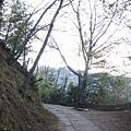 往品田池有登山口的步道