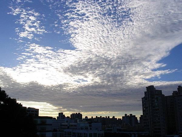 出發之前的雲