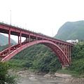 紅色的羅浮橋
