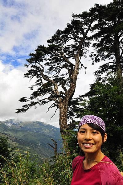 專程從日本回來爬山的陳瑪莉