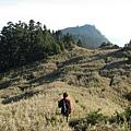 遠方的喀拉業山