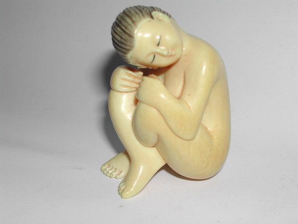(1)近代文物     保育類xx牙  名家雕刻