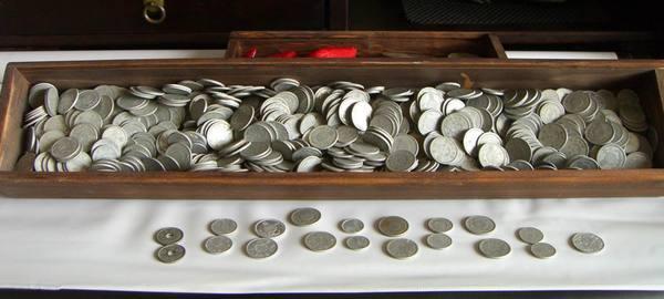 (8)近代文物    台灣日據時代錢幣