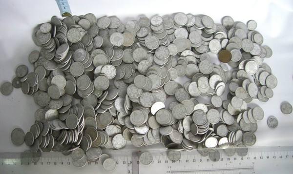(21)近代文物    台灣日據時代錢幣