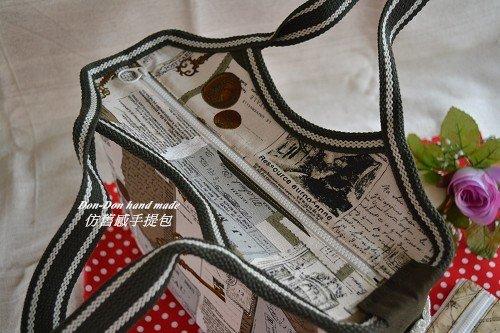 仿舊感手提包(2)