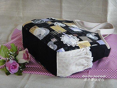 黑色蕾絲提包(3)