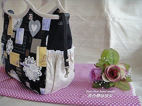 黑色蕾絲提包(6)