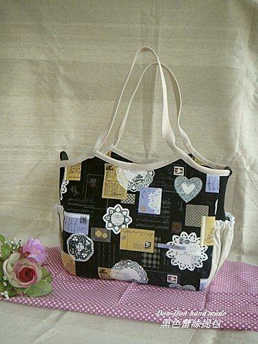 黑色蕾絲提包