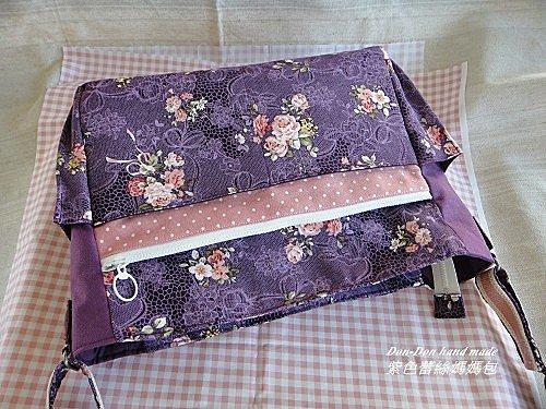 紫色蕾絲媽媽包(3)